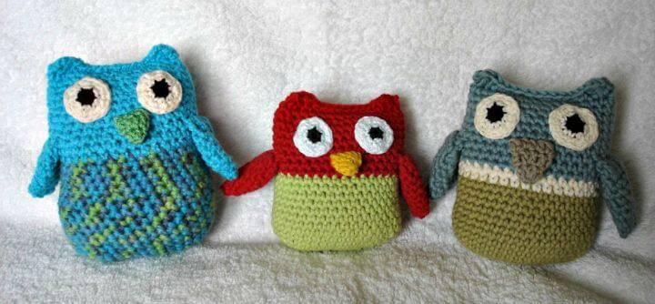 Crochet Owl Family - Free Amigurumi Pattern