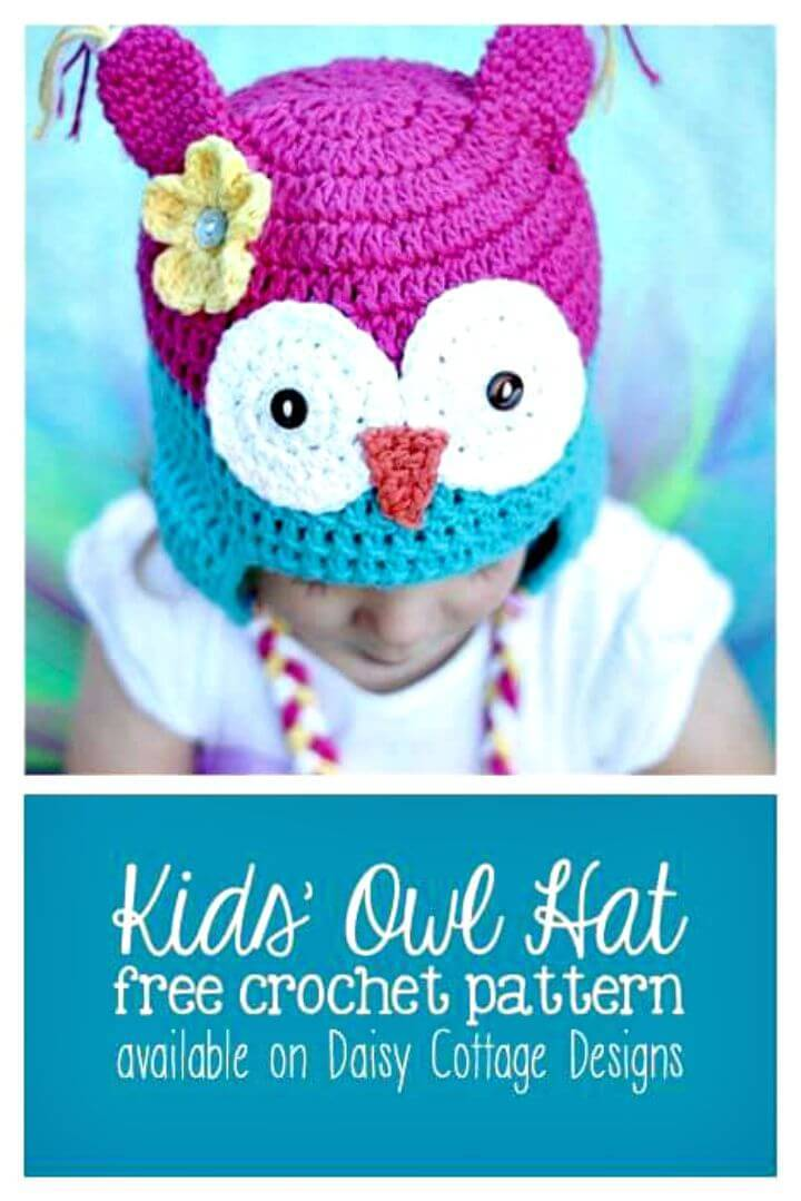 ca7f3ee5bc3 Crochet owl hats are all the rage in the crochet circle and there so many  ways to crochet it and make it look apt and fun for your little ones.