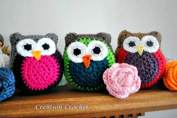Crochet Owl Stuffy - Free Amigurumi Patterns