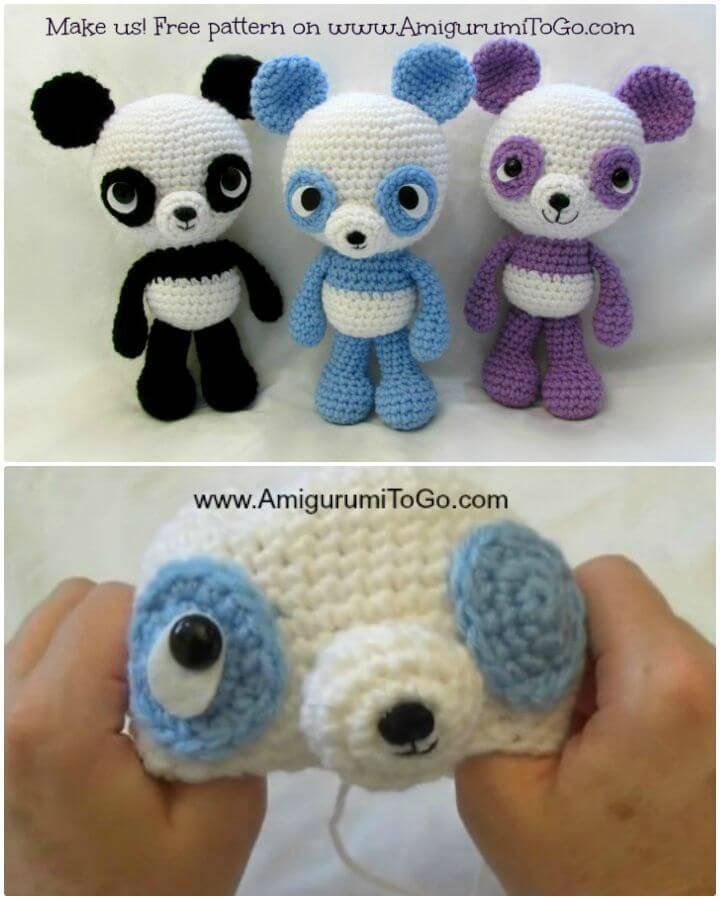 Crochet Panda Amigurumi - Free Pattern