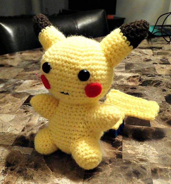 Free Crochet Pikachu Amigurumi Pattern