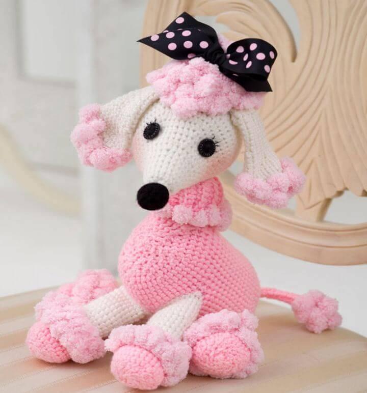 Crochet Pomp- A -Poodle Amigurumi - Free Pattern
