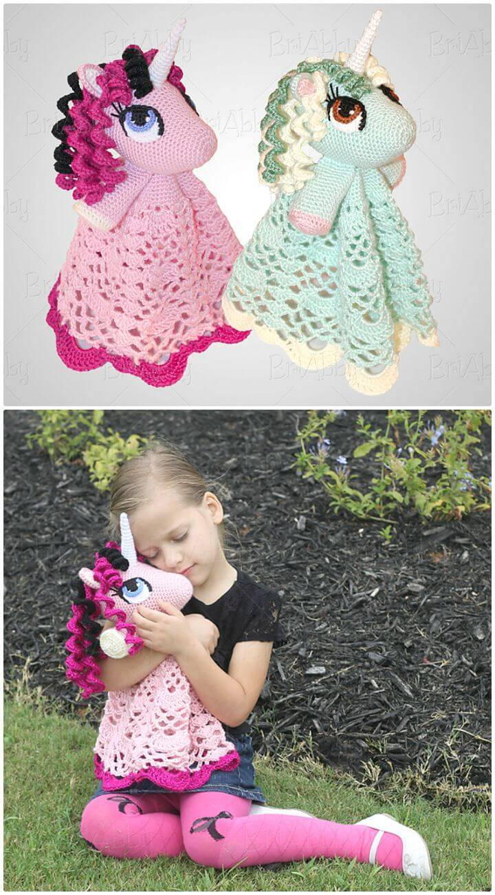 35 Free Crochet Lovey Patterns For Your Cute Baby Diy
