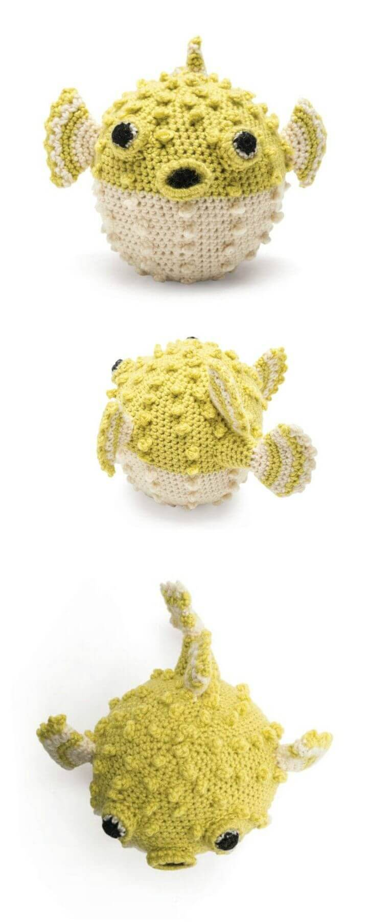 Free Crochet Puffer Fish Pattern