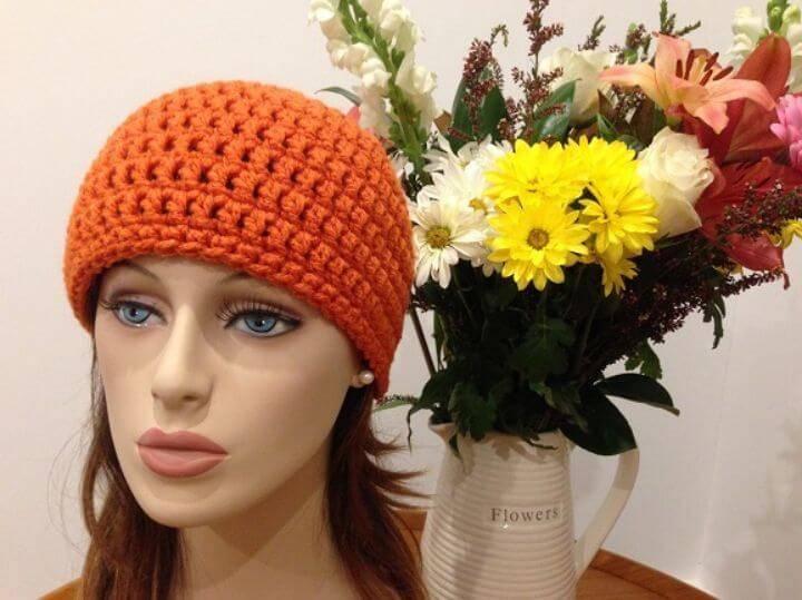 Free Crochet Quick Chemo Cap Pattern
