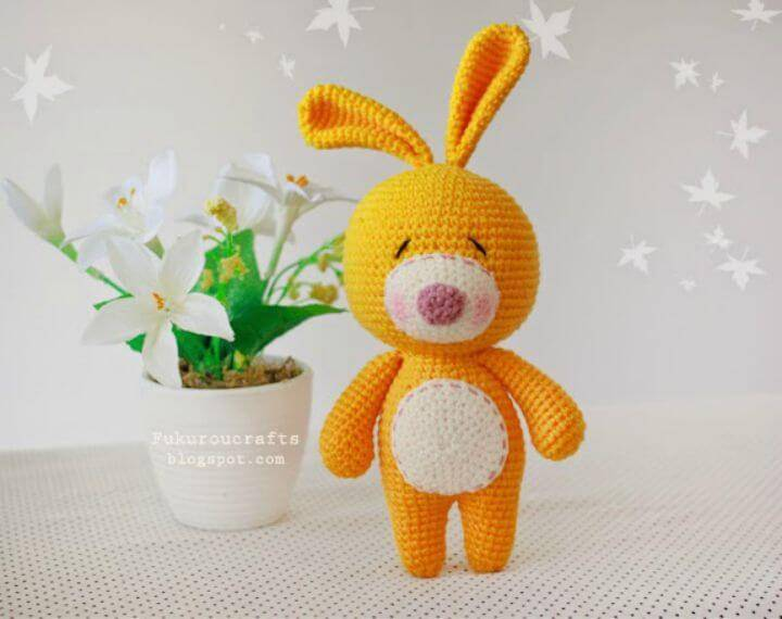 How To Crochet Rabbit Doll - Free Amigurumi Pattern