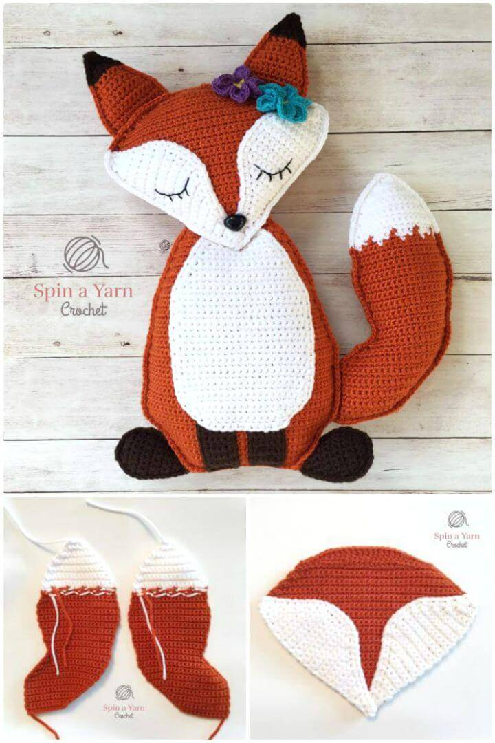 Make A Ragdoll Fox Free Crochet Pattern