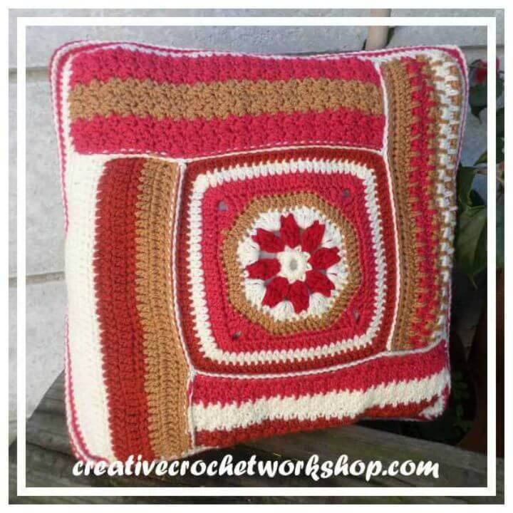 Free Crochet Scraps Of Yarn Decor Mystery Cal Pattern