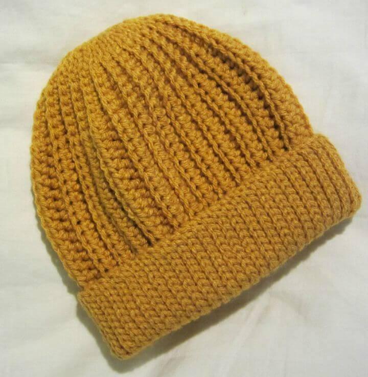 How To Crochet Seafarer's Cap - Free Pattern