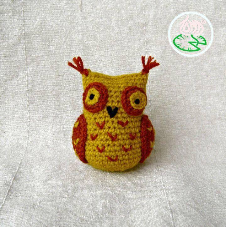 Amigurumi Sophisticated Owl Free Crochet Pattern