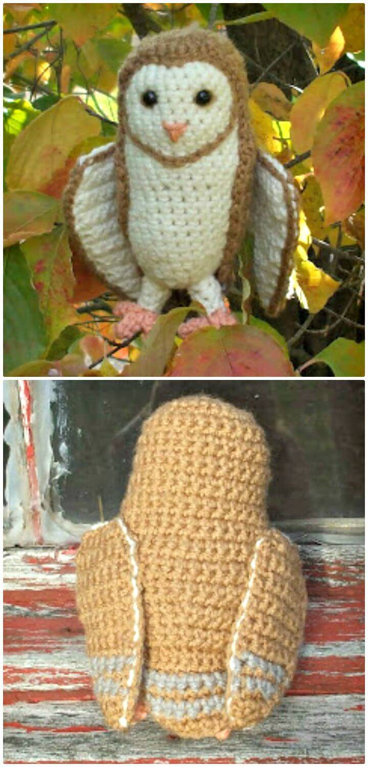 How To Crochet Soren the Barn Owl - Free Amigurumi Patterns
