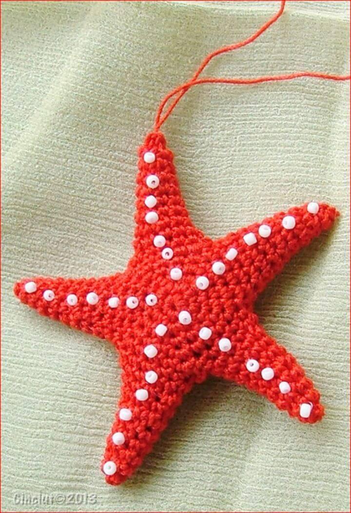 Free Crochet Starfish Amigurumi Pattern