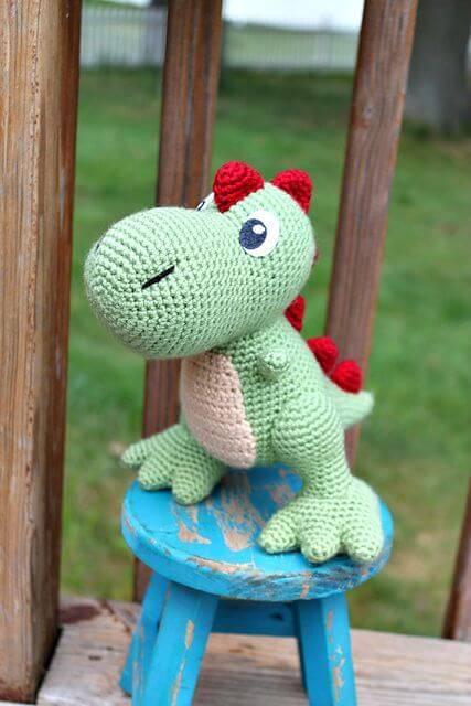 Crochet T-Rex Amigurumi - Free Pattern