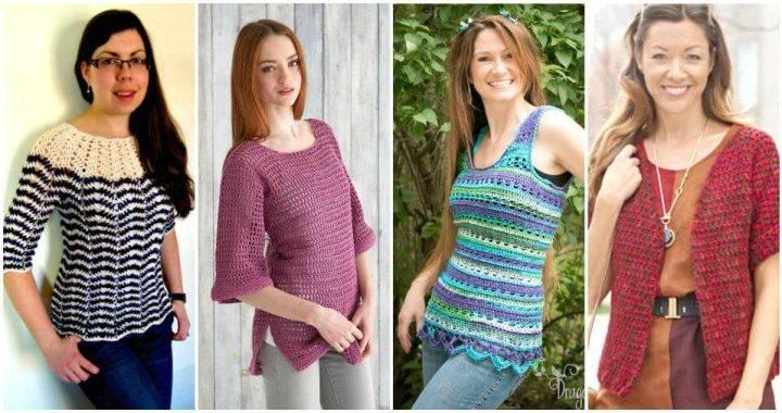 Crochet Tank Top – 10 Free Crochet Patterns