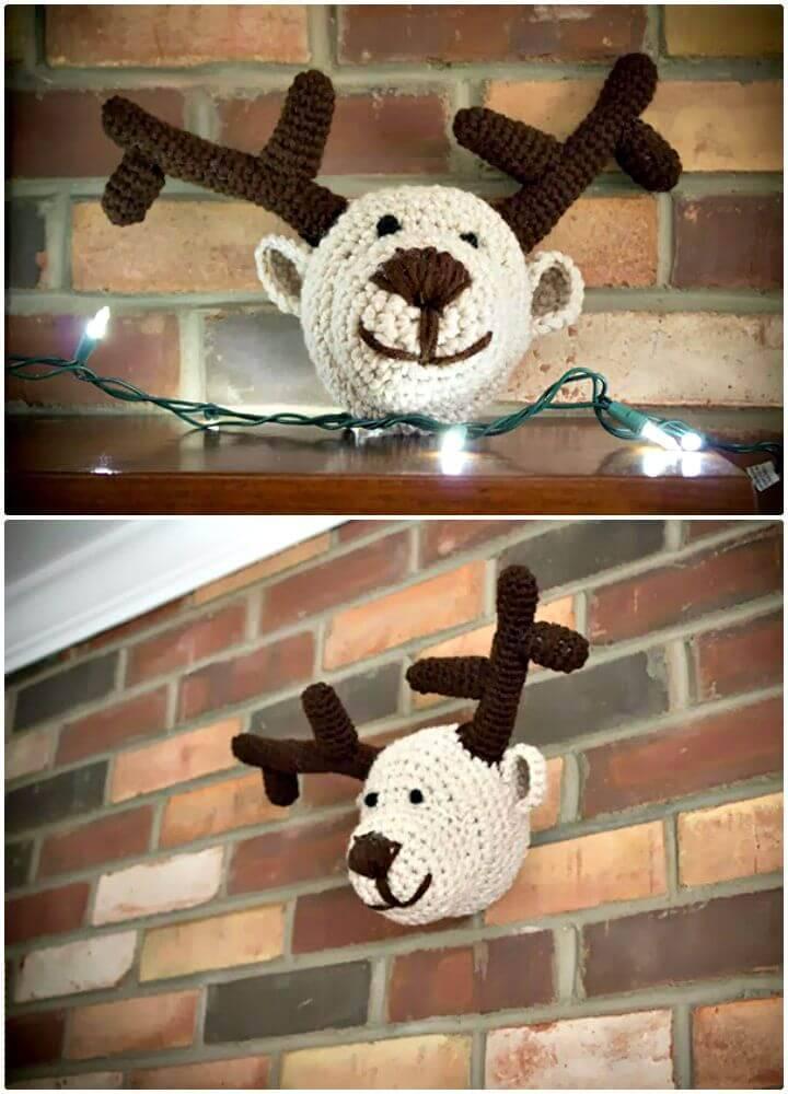 Free Crochet Taxidermy Amigurumi Pattern