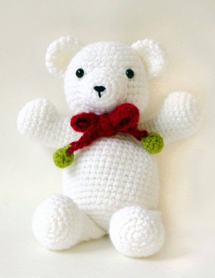 Free Teddy Bear crochet pattern - Amigurumi Today | 929x720