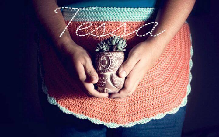 Easy Free Crochet Tessa Apron Pattern