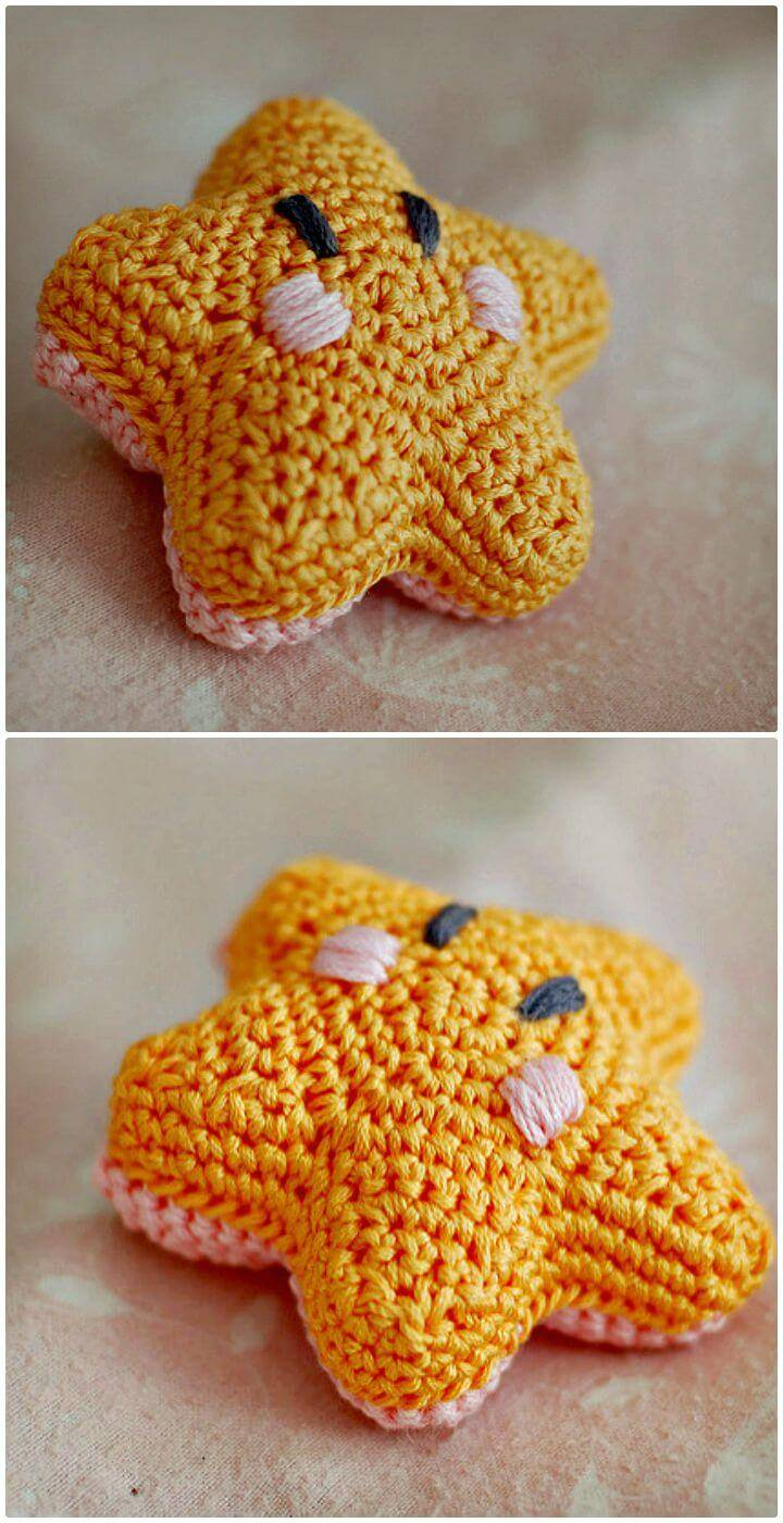 Crochet The Littlest Bashful Starfish - Free Pattern