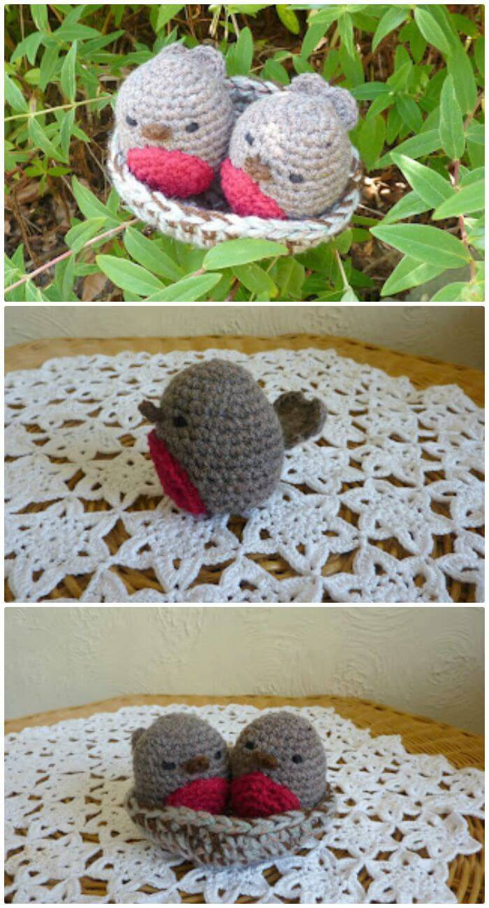 Crochet The Love Nest - Free Valentine Day Pattern