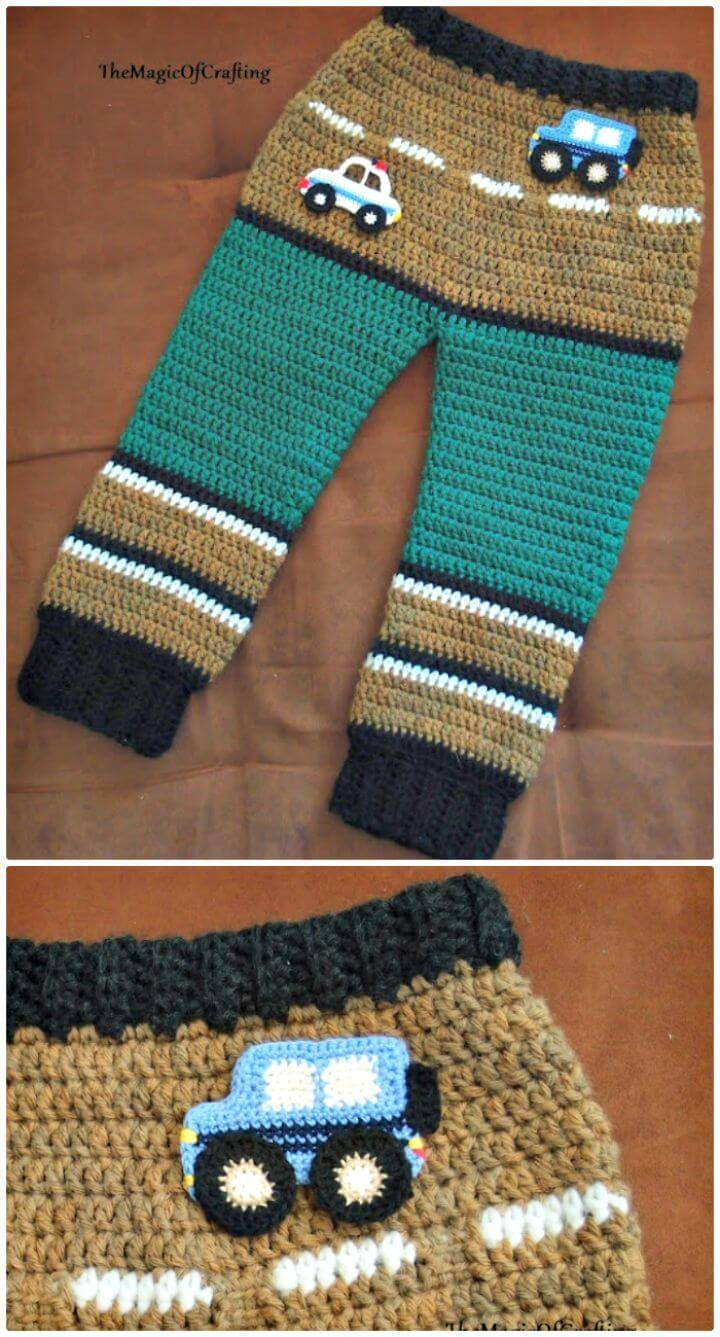 Crochet Toddler Pant - Free Pattern