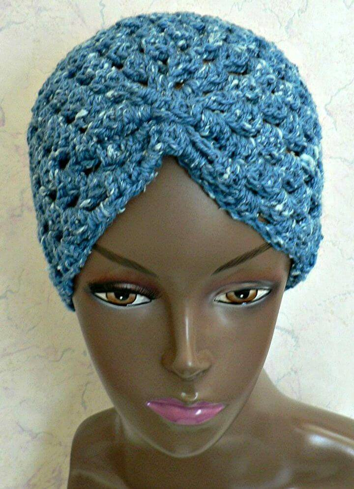 Free Crochet Turban - Caps Patterns