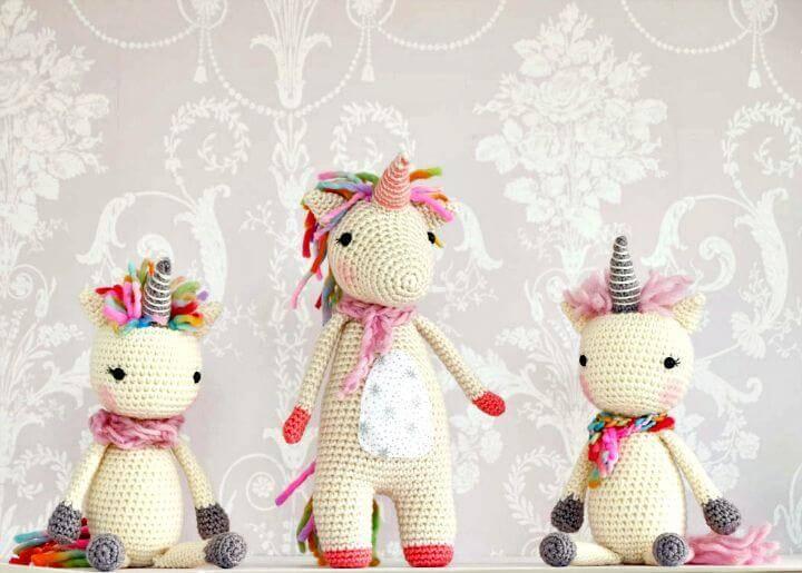 Free Crochet Twinkle Toes The Unicorn Pattern