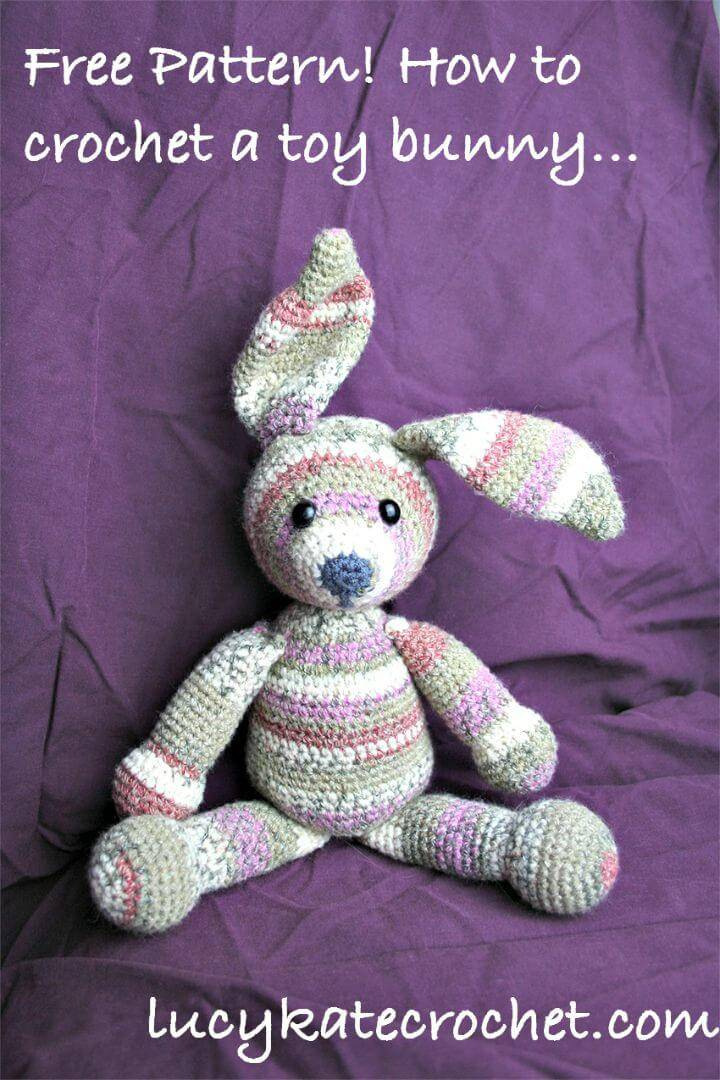 Free Crochet Unique Bunny Pattern