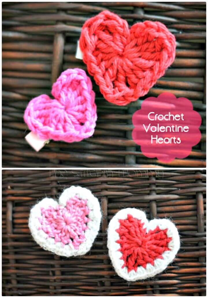 Easy Crochet Valentine'S Day Heart – Free Pattern
