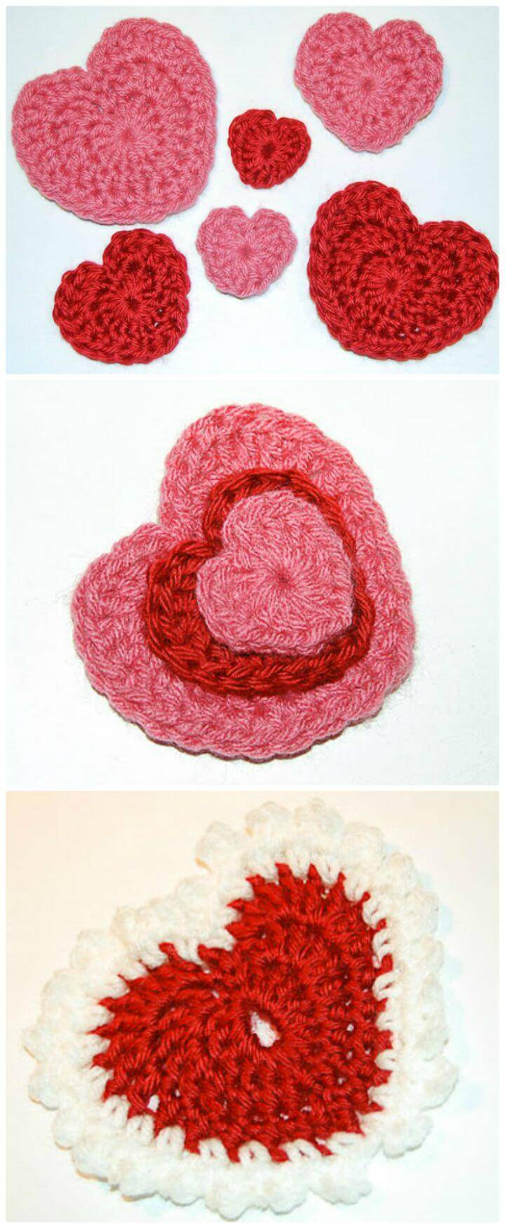 How To Crochet Valentine's Day Heart - Free Valentine Day Pattern