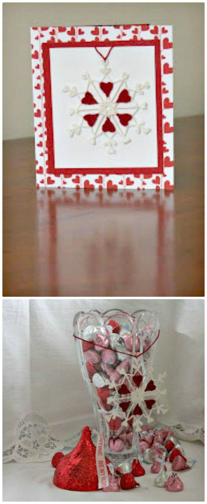 Crochet Valentine Flake - Free Pattern