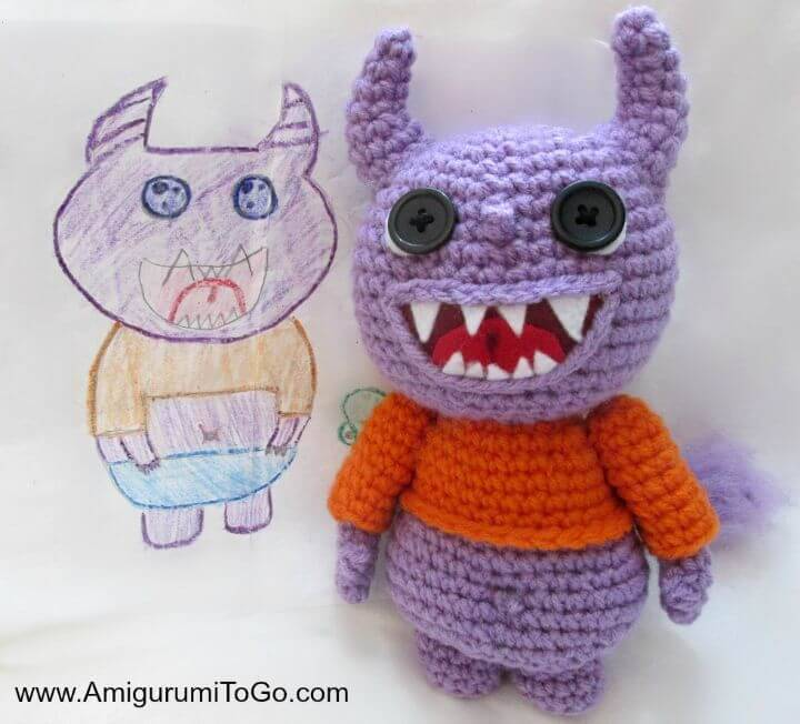 Free Crochet Yarny Monsters Pattern And Video