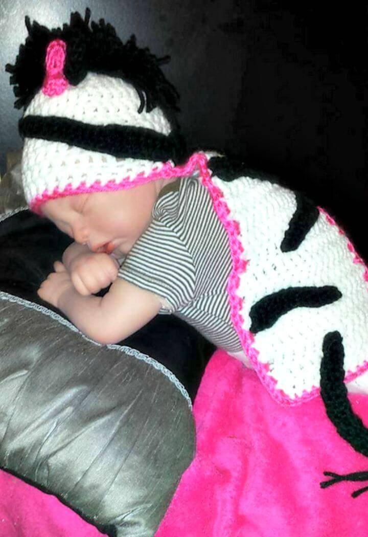 Make A Zebra Hat Amigurumi - Free Crochet Pattern