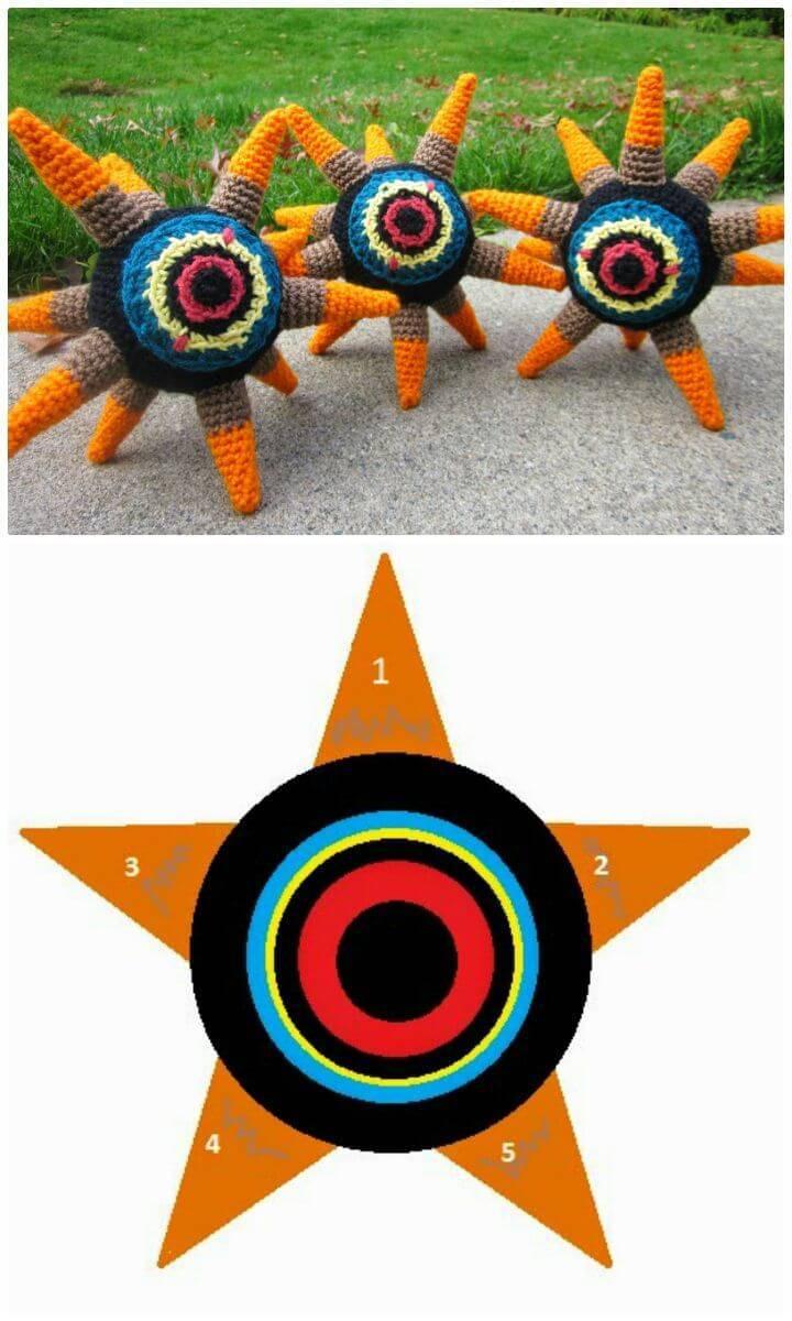 Free Crochet Zelda Wind Waker Morth Amigurumi Pattern