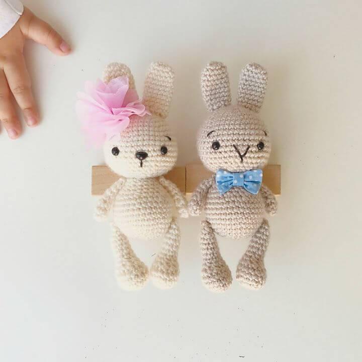 How To Crochet Zipzip Bunny Free Pattern
