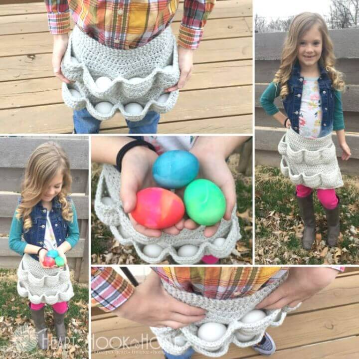Free Crocheted Egg Apron Pattern