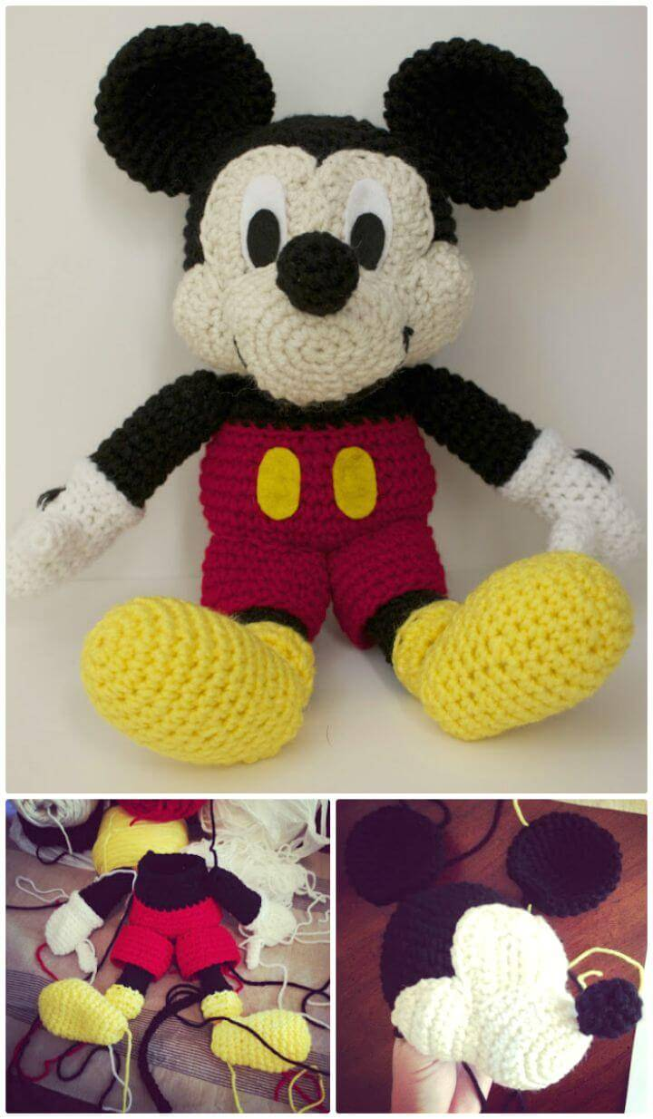 Free Crochet Mickey Mouse - Pattern Review