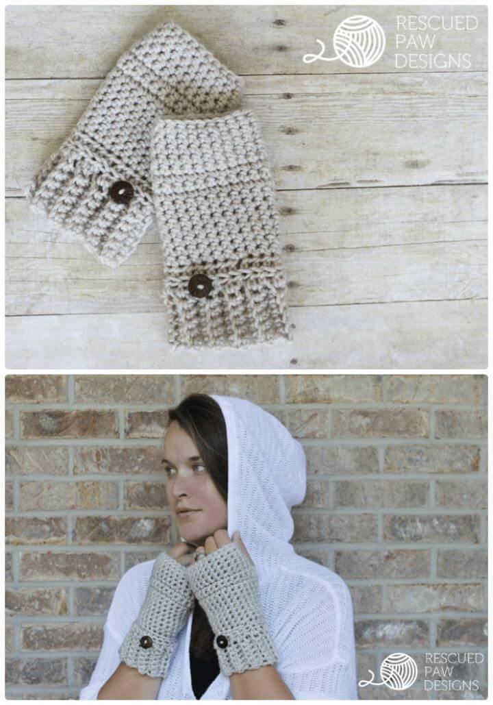 Free Crochet Andy Crochet Hand Warmers Pattern