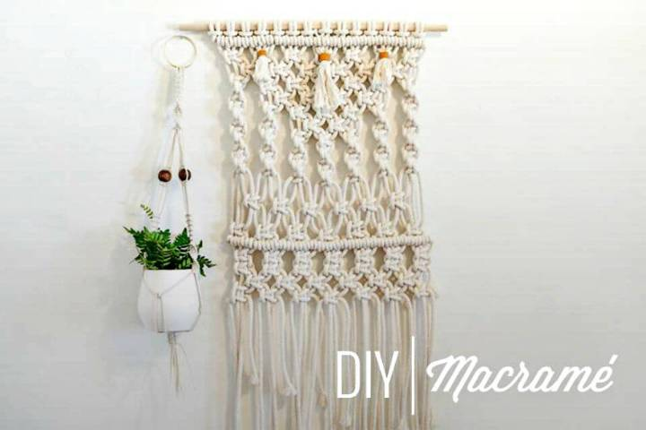 Make An Awesome Macrame Plant Hanger - Full Tutorial
