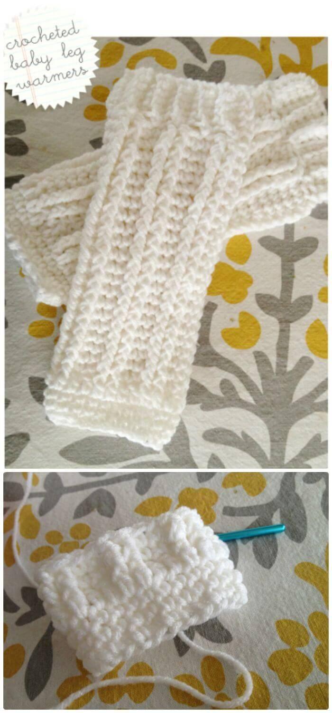 Crochet Baby Leg Warmers - Free Pattern