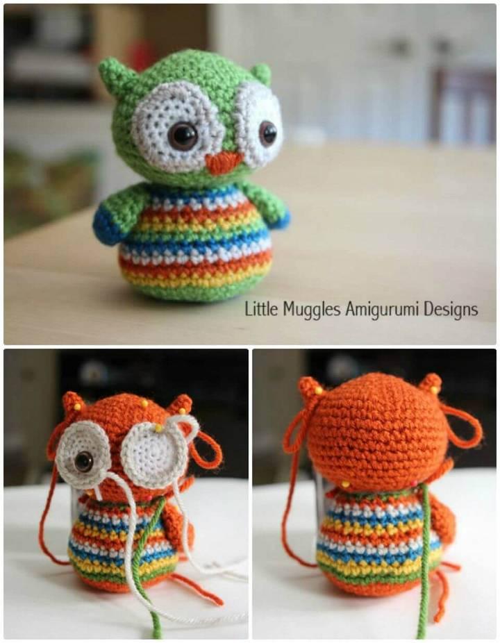 Free Crochet Baby Owl Pattern!