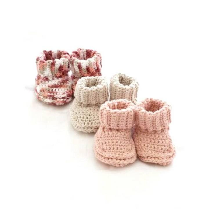 Free Crochet Baby's Booties Pattern