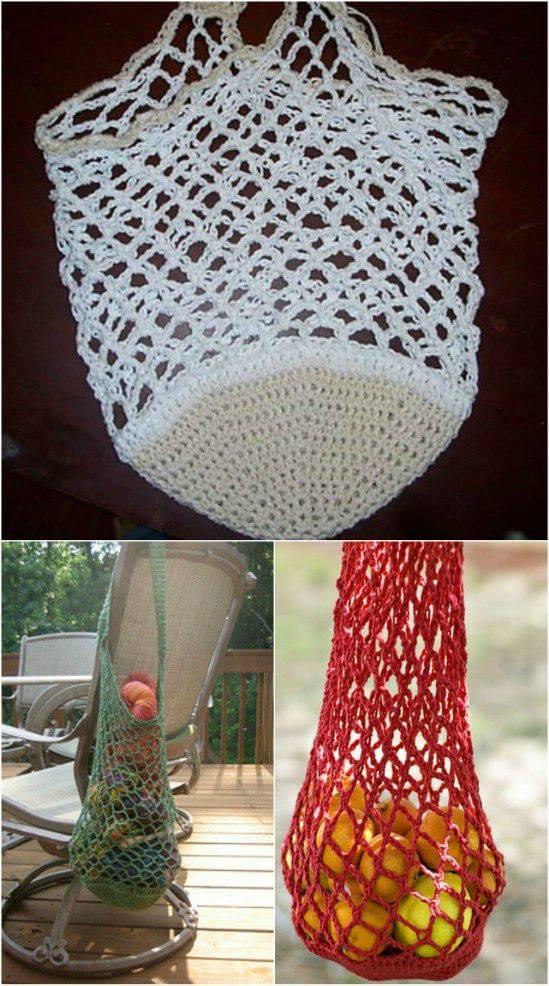 DIY Beginner Free Crochet Market Bag