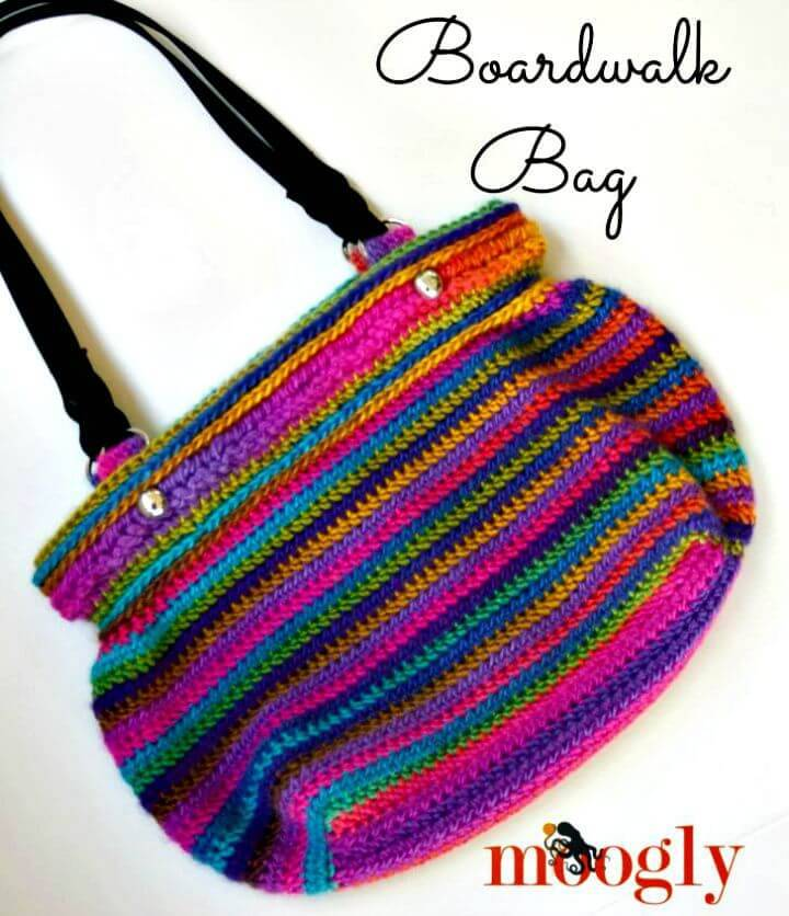 How To Free Crochet Boardwalk Bag Pattern