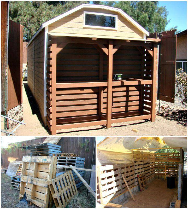 Build A Brilliant Pallet Shed - Free Plan