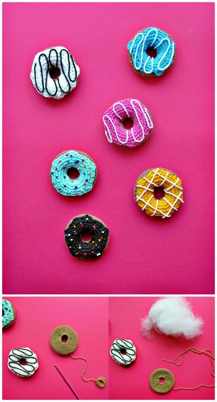 Free Easy Crochet Donuts Pattern