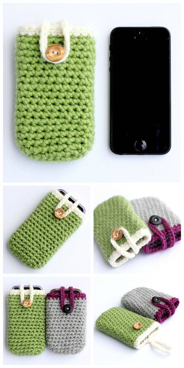 Crochet I phone Case – Quick And Easy Pattern