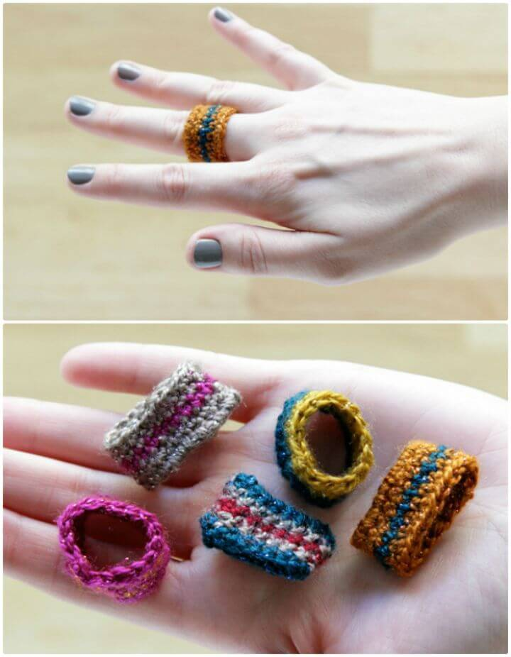 Easy Free Crochet Ring Pattern