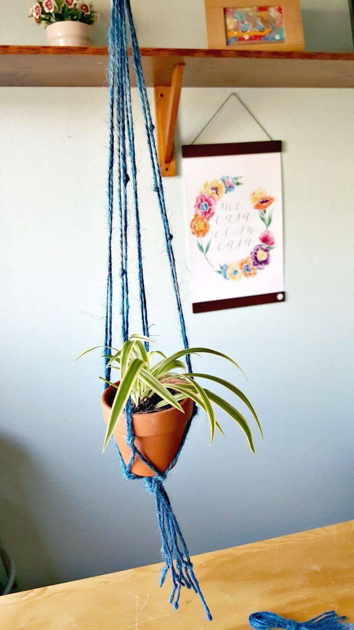 DIY Cute Macrame Plant Hanger