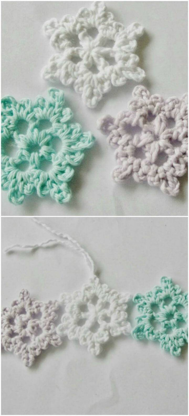 101 free crochet patterns for beginners that are super easy diy easy crochet snowflake pattern bankloansurffo Gallery