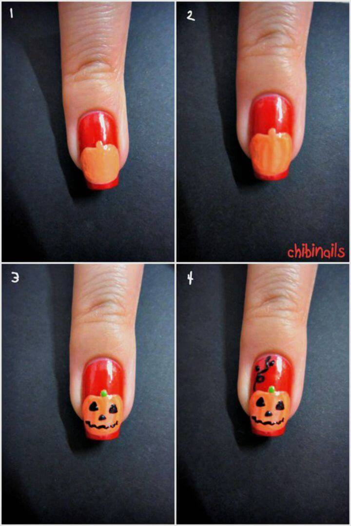 DIY Halloween Nail Art Tutorial